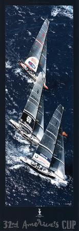 Fleet to the Mark, 32nd America's Cup
