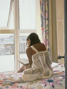 Sunday Morning - Newlyn, 1998 by Gillian Furlong