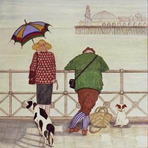 Brighton Pier, 1986 by Gillian Lawson
