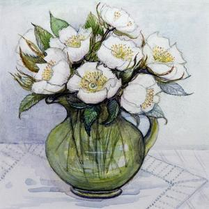Christmas Roses, 1984 by Gillian Lawson