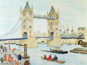 Tower Bridge, London by Gillian Lawson