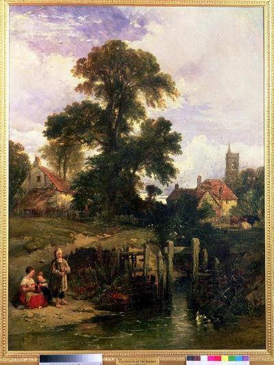 Gillingham on the Medway, 1841-William James Muller-Giclee Print