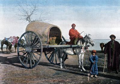 Bukhara Wagon, Uzbekistan, C1890 by Gillot