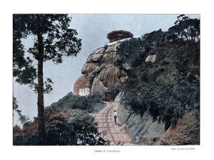 Corcovado Rack Railway, Rio De Janeiro, Brazil, 19th Century by Gillot