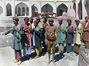 Dervishes and Martyrs, Tehran, C1890 by Gillot