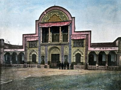 Gate of the Palace of the Shah, Tehran, C1890 by Gillot