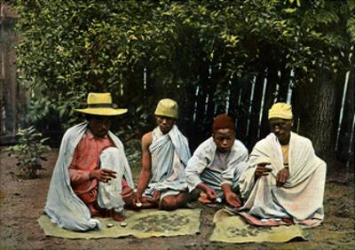Hova Money Changers, Madagascar, Late 19th Century by Gillot