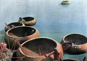 Kouffehs on the Euphrates River, C1890 by Gillot