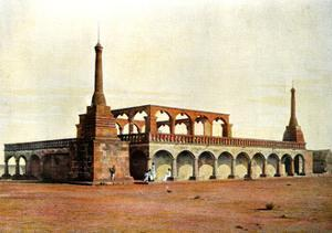 Mausoleum of the Ex-First Minister and His Family, Madagascar, Late 19th Century by Gillot