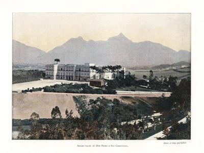 Palace of Don Pedro, Brazil, 19th Century by Gillot