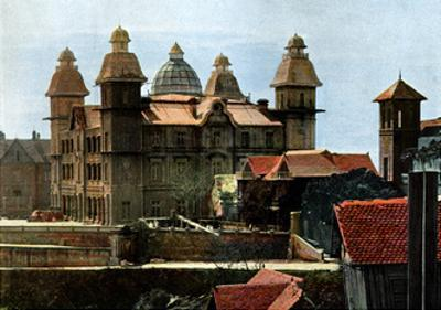 Palace of the Ex-First Minister, and the Barracks of the Marines, Madagascar, Late 19th Century by Gillot