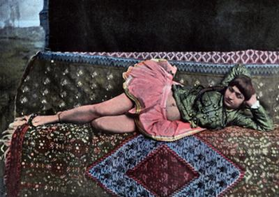 Persian Woman in a Harem, C1890 by Gillot