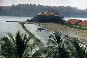 Port Blair, Capital of the Andaman and Nicobar Islands, Indian Ocean, C1890 by Gillot