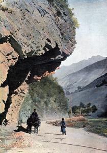 Rock Close to the Village of Annaour, C1890 by Gillot