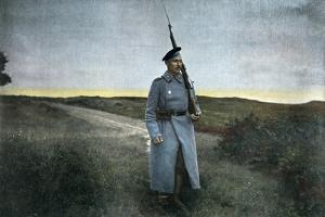 Russian Sentry, C1890 by Gillot