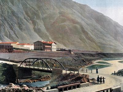 Station at Lars on the Georgian Military Road, C1890 by Gillot