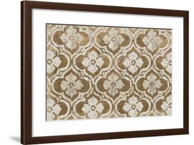 Gilt Complex I Neutral Warm-Avery Tillmon-Framed Art Print