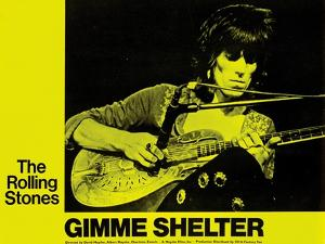 Gimme Shelter, Keith Richards, 1970