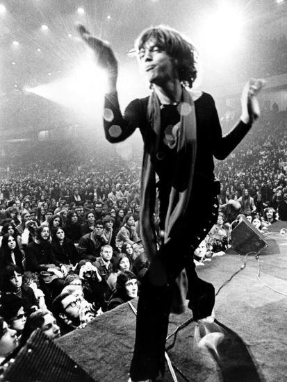 Gimme Shelter, Mick Jagger, 1970--Photo