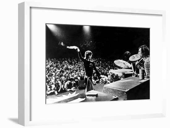 Gimme Shelter, Mick Jagger, Charlie Watts, 1970--Framed Photo