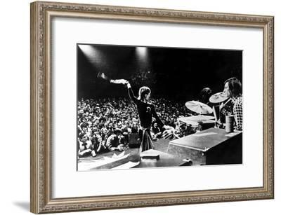 Gimme Shelter, Mick Jagger, Charlie Watts, 1970--Framed Photo