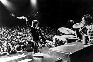 Gimme Shelter, Mick Jagger, Charlie Watts, 1970