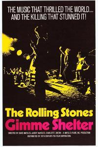 Gimme Shelter, US Poster Art, Mick Jagger, Keith Richards, (AKA the Rolling Stones), 1970