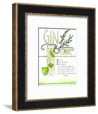 Gin & Tonic-Marcella Kriebel-Framed Art Print