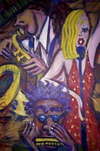 Jazz Club by Gina Bernardini