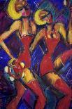 Jazz Club-Gina Bernardini-Giclee Print