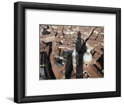 Bologna's Basilica di San Petronio from Torre Degli Asinelli, Italy