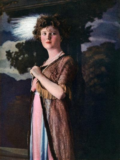 Gina Palerme, Actress and Dancer, 1911-1912--Giclee Print