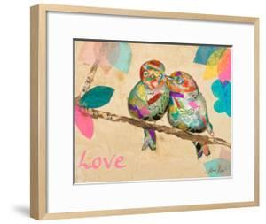 Band of Inspired Birds I (Love) by Gina Ritter