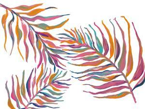 Colorful Palm Leaves II by Gina Ritter