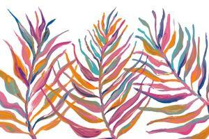 Colorful Palm Leaves IV by Gina Ritter