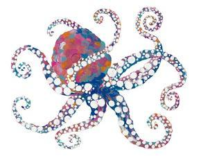 Dotted Octopus I by Gina Ritter