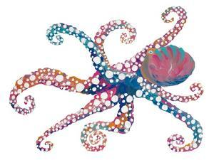 Dotted Octopus II by Gina Ritter
