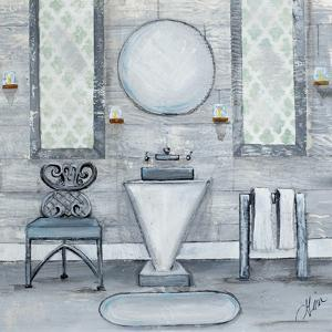 Grey Bath I by Gina Ritter