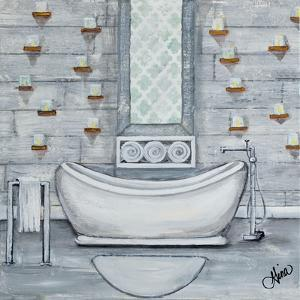 Grey Bath II by Gina Ritter