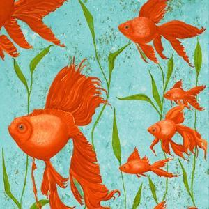 School of Fish I by Gina Ritter