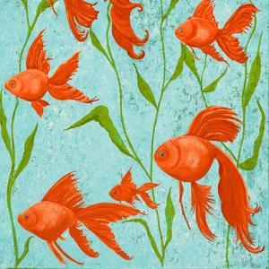 School of Fish II by Gina Ritter