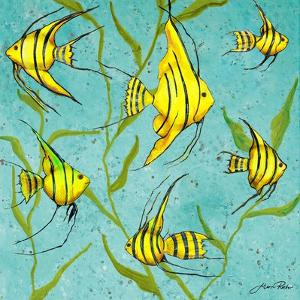 School of Fish IV by Gina Ritter