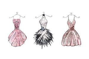 Sparkling Dress Trio by Gina Ritter