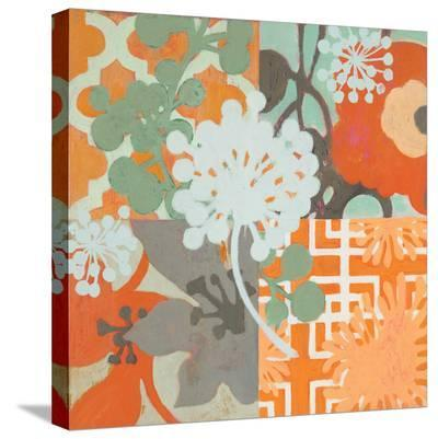 Ginger Blossom I-Sally Bennett Baxley-Stretched Canvas Print