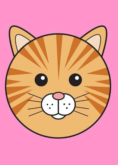 Ginger Cat--Art Print