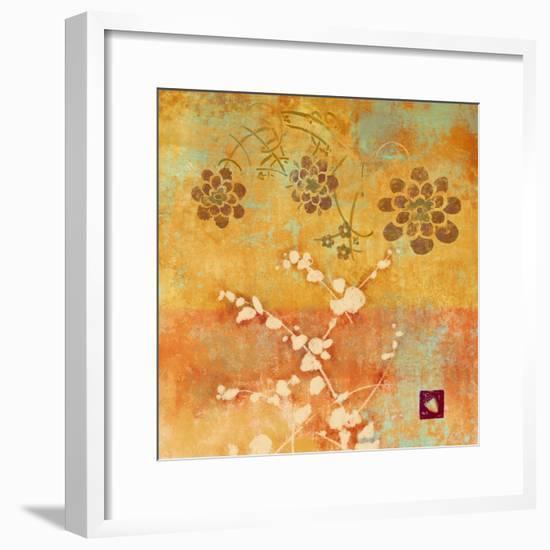 Ginger Fall I-Evelia Designs-Framed Art Print
