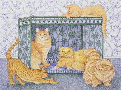 Ginger Gentlemen-Pat Scott-Giclee Print