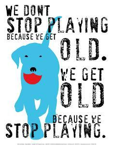 Don't Stop Playing by Ginger Oliphant