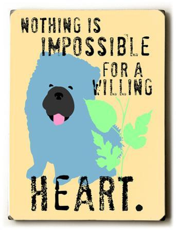 For a willing heart