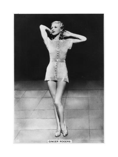 Ginger Rogers, American Actress, Dancer and Singer, C1938--Giclee Print